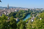 Views of Bern from the rose garden